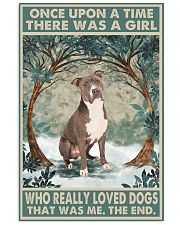 Staffordshire Terrier Once Upon A Time 11x17 Poster front