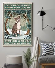 Staffordshire Terrier Once Upon A Time 11x17 Poster lifestyle-poster-1