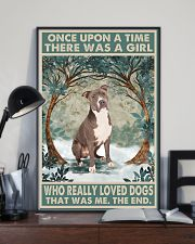 Staffordshire Terrier Once Upon A Time 11x17 Poster lifestyle-poster-2