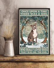 Staffordshire Terrier Once Upon A Time 11x17 Poster lifestyle-poster-3