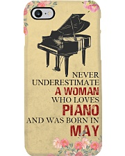Piano A Woman May Phone Case i-phone-8-case