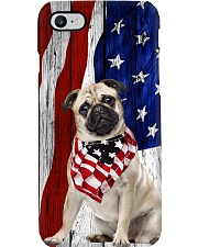 Pug Usa Flag Phone Case i-phone-8-case
