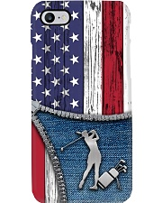 Golf Usa Flag Phone Case i-phone-7-case