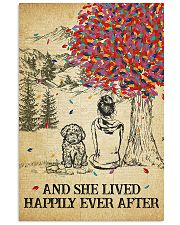 Goldendoodle She Lived Happily 11x17 Poster front