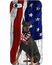 Doberman Pinscher Usa Flag Phone Case i-phone-7-case