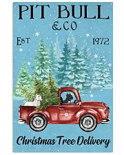 2 Dogs Christmas Tree Delivery 11x17 Poster front