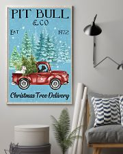 2 Dogs Christmas Tree Delivery 11x17 Poster lifestyle-poster-1