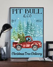2 Dogs Christmas Tree Delivery 11x17 Poster lifestyle-poster-2