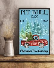 2 Dogs Christmas Tree Delivery 11x17 Poster lifestyle-poster-3