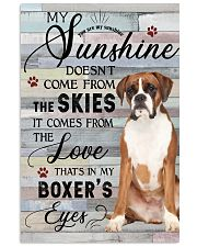 Boxer Comes From The Love 11x17 Poster front