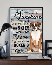 Boxer Comes From The Love 11x17 Poster lifestyle-poster-2