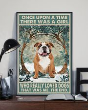 English Bulldog Once Upon A Time 11x17 Poster lifestyle-poster-2