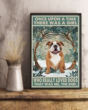 English Bulldog Once Upon A Time 11x17 Poster lifestyle-poster-3