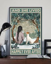 Jack Russell Happily Ever After Dark 11x17 Poster lifestyle-poster-2