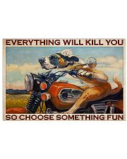 Motorcycle something fun 24x16 Poster front