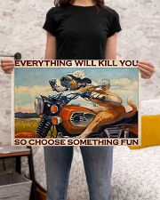 Motorcycle something fun 24x16 Poster poster-landscape-24x16-lifestyle-20