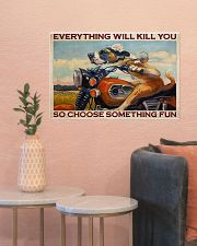 Motorcycle something fun 24x16 Poster poster-landscape-24x16-lifestyle-22