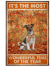 Jack Russell Most Wonderful Time 11x17 Poster front
