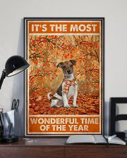 Jack Russell Most Wonderful Time 11x17 Poster lifestyle-poster-2