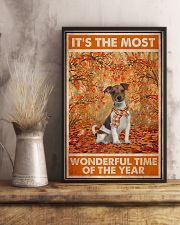 Jack Russell Most Wonderful Time 11x17 Poster lifestyle-poster-3