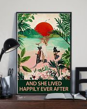 German shepherd and she lived 11x17 Poster lifestyle-poster-2