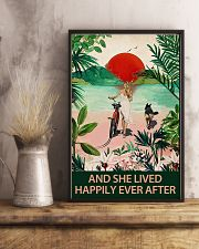 German shepherd and she lived 11x17 Poster lifestyle-poster-3