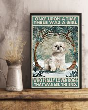 Shih Tzu Once Upon A Time 11x17 Poster lifestyle-poster-3
