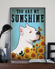 American Pit Bull Terrier You Are My Sunshine 11x17 Poster lifestyle-poster-2