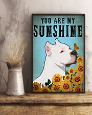 American Pit Bull Terrier You Are My Sunshine 11x17 Poster lifestyle-poster-3