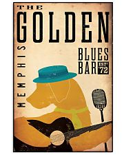 the golden blue bar 11x17 Poster front
