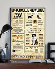 Border Collie Knowledge 11x17 Poster lifestyle-poster-2