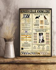 Border Collie Knowledge 11x17 Poster lifestyle-poster-3