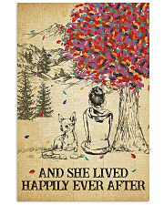 Chihuahua She Lived Happily 11x17 Poster front