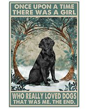Labrador Once Upon A Time 11x17 Poster front