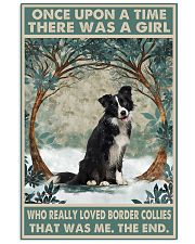 Border Collie Once Upon A Time 11x17 Poster front