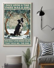 Border Collie Once Upon A Time 11x17 Poster lifestyle-poster-1