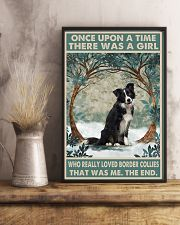 Border Collie Once Upon A Time 11x17 Poster lifestyle-poster-3