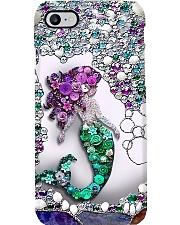 Mermaid pearl Phone Case i-phone-8-case