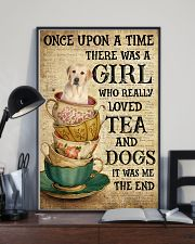Golden Labrador Once Upon A Time 11x17 Poster lifestyle-poster-2