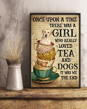 Golden Labrador Once Upon A Time 11x17 Poster lifestyle-poster-3