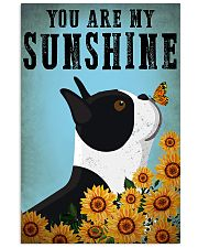 Boston You Are My Sunshine 11x17 Poster front