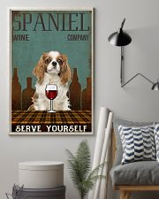 Spaniel serve yourself 11x17 Poster lifestyle-poster-1
