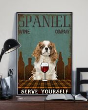 Spaniel serve yourself 11x17 Poster lifestyle-poster-2