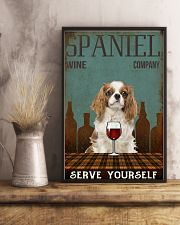 Spaniel serve yourself 11x17 Poster lifestyle-poster-3