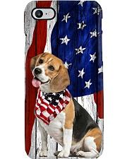 Beagle Usa Flag Phone Case i-phone-7-case