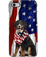 Bernese Mountain Terrier Usa Flag Phone Case i-phone-8-case