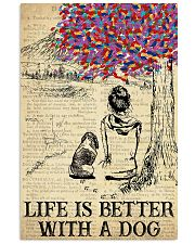 Basset Hound Life Is Better 11x17 Poster front