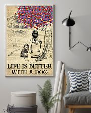 Basset Hound Life Is Better 11x17 Poster lifestyle-poster-1