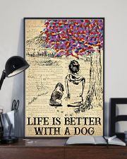 Basset Hound Life Is Better 11x17 Poster lifestyle-poster-2
