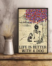 Basset Hound Life Is Better 11x17 Poster lifestyle-poster-3